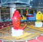 欢乐喷球车新型儿童游乐设备